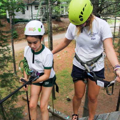 Develop professional skills while working at camp.