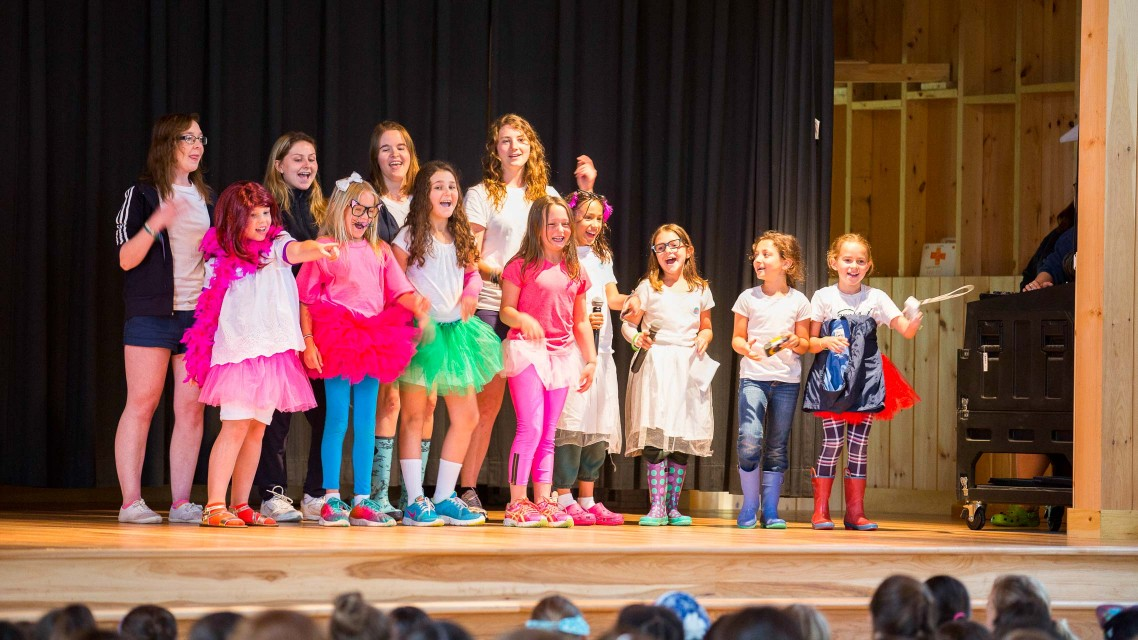 Theater at Summer Camp