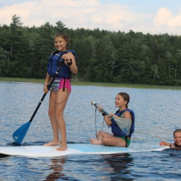 The gift of summer camp provides girls the opportunity to learn new skills.