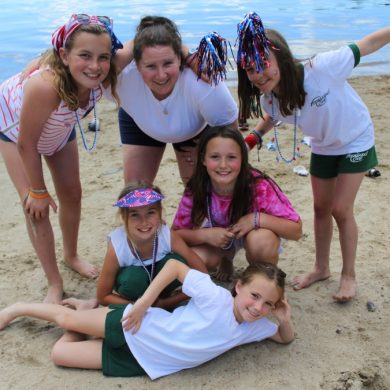 Camp community provides support year round.