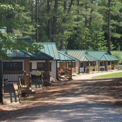 Simple Living is extraordinary at summer camp.