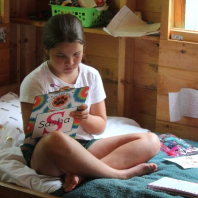 Letter writing is a great way to maintain summer camp connections.